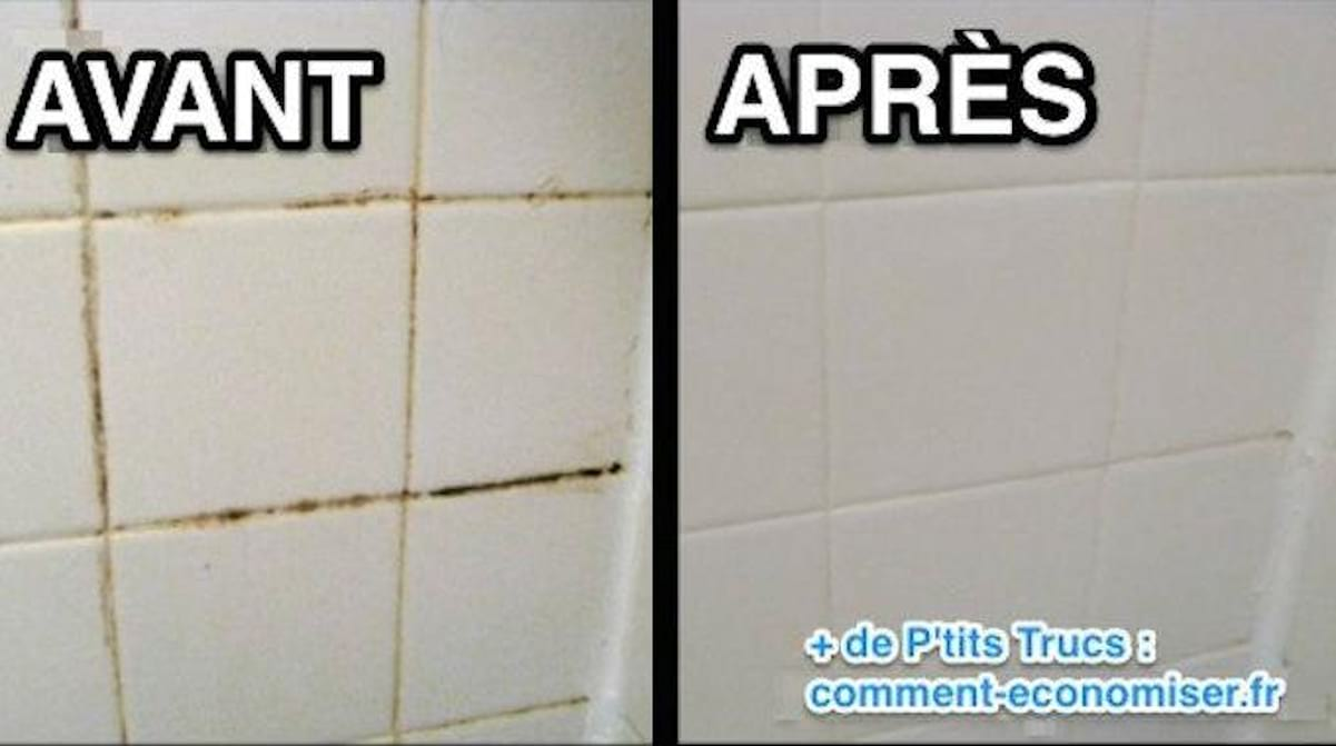 Nettoyez les joints dans la salle de bain - DIY et Bricolage